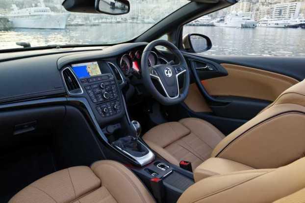Vauxhall Cascada cabin