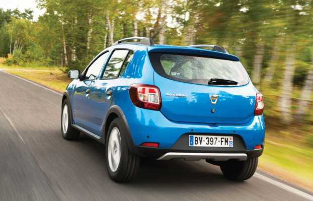 Dacia Sandero Stepway rear