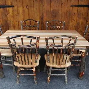 hickory chairs for sale rattan chair cushion covers amish furniture in lancaster pa carriage house 42 x 72 dining table