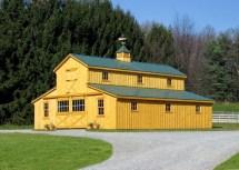 Amish Horse Barns