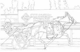 Drawing of Guienne Hanover