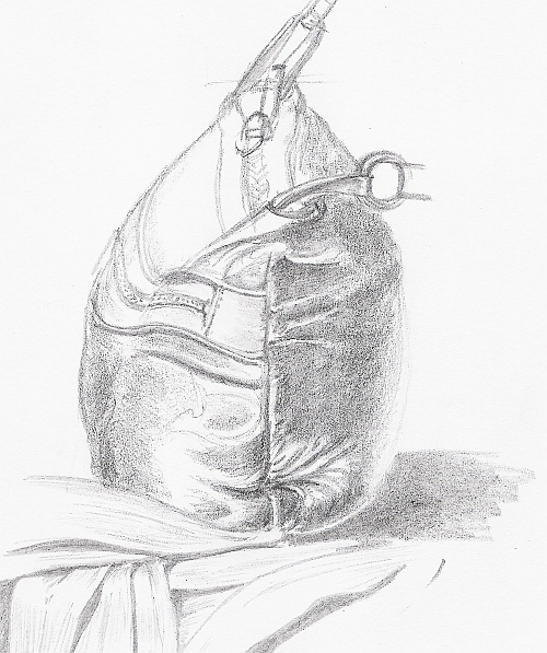 Drawing Studies - Handbag Study