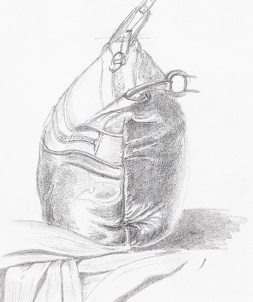 Drawing Studies - Handbag Study