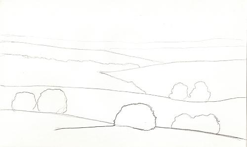 2 Easy Ways to Draw Distance - Darker Lines
