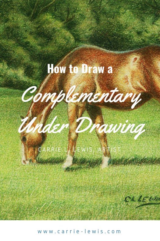 How to Draw a Complementary Under Drawing