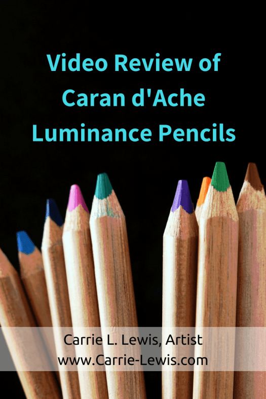 Video Review of Caran d'Ache Luminance Pencils