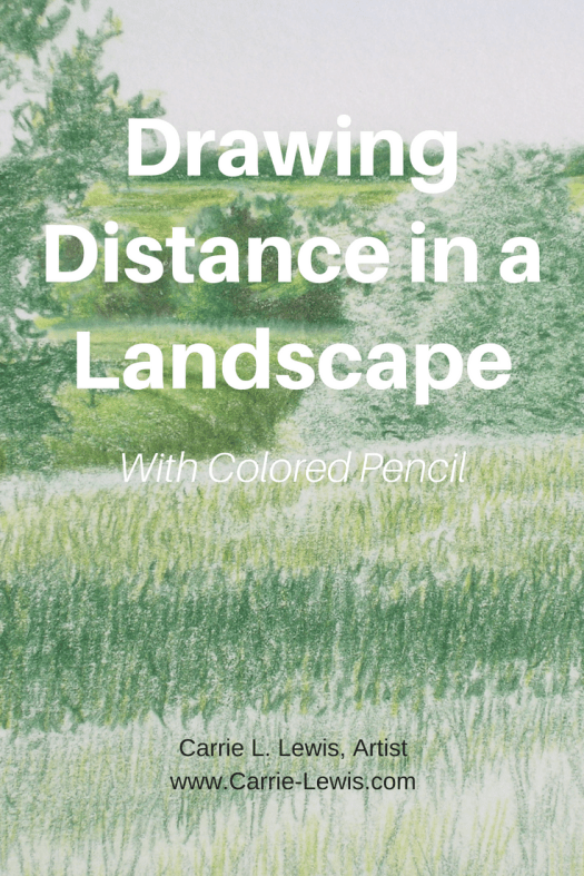 Drawing Distance in a Landscape