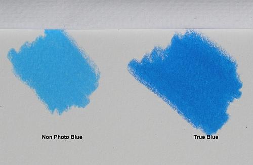 Blue Palette for Colored Pencil