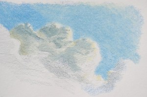 Autumn Plein Air Drawing Challenge, Drawing 2