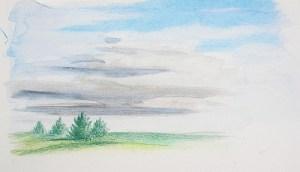 2016-09-12 Plein Air Drawing Week 3, Drawing 2