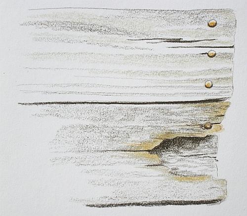 Colored Pencil Plein Air Drawing Week 4