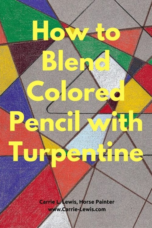 blend-colored-pencil-with-turpentine