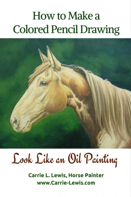 How to Make a Colored Pencil Drawing Look Like an Oil Painting