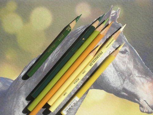 How to Draw a Bokeh Background with Colored Pencil - Background Colors