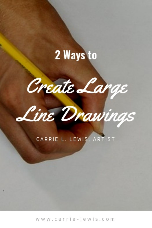 2 Ways to Create Large Line Drawings