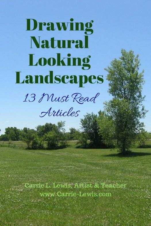 Drawing Natural Looking Landscapes