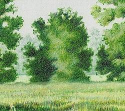 Drawing Natural Looking Landscapes - Drawing Realistic Greens