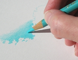 Drawing Natural Looking Landscapes - How to Draw a Clear Blue Sky