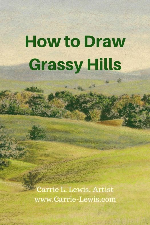 How to Draw Grassy Hills