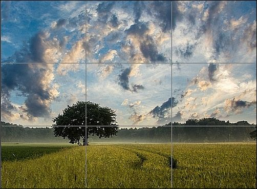 Using a Drawing Grid - Rule of Thirds