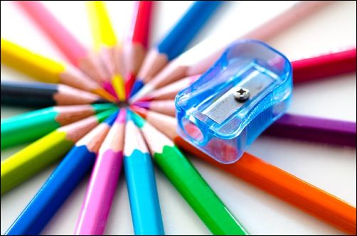 Questions about Colored Pencil Sharpeners and Erasers - Hand-held Sharpener