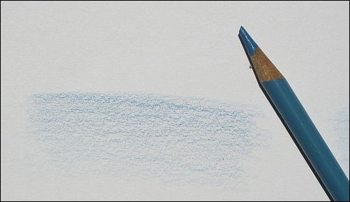 When to Use Blunt Colored Pencils - Even Color