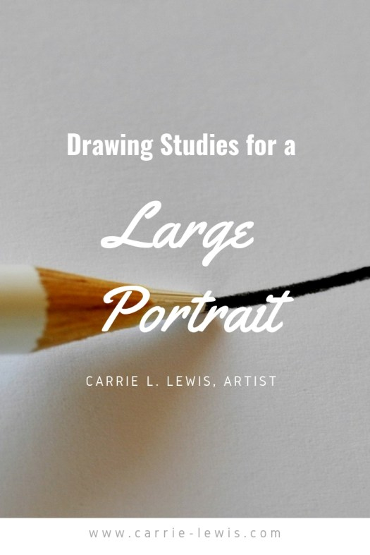Drawing Studies for Large Portraits
