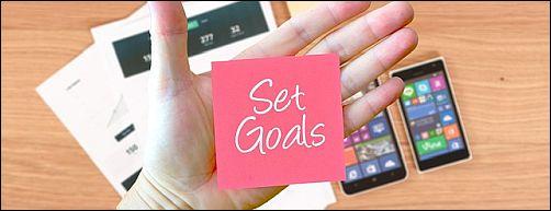Tips for New Artists - Set Goals