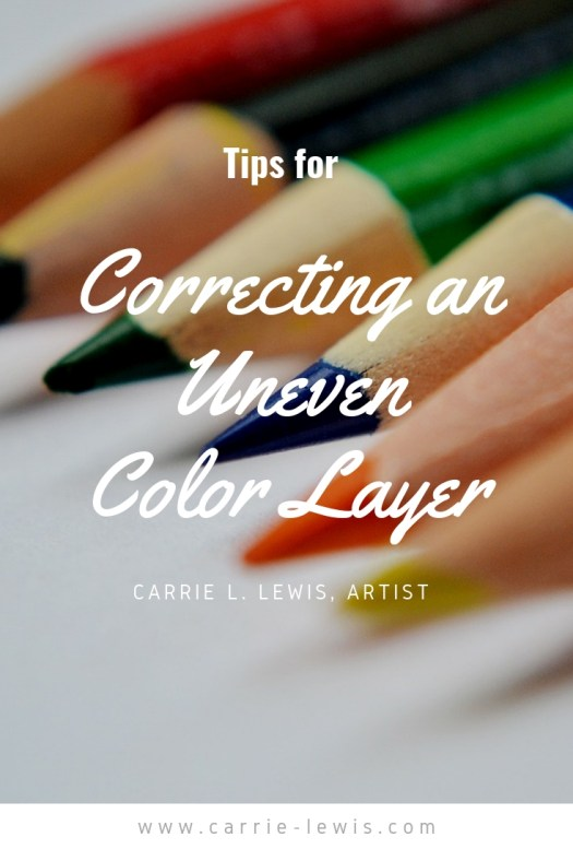 Tips for Correcting an Uneven Color Layer