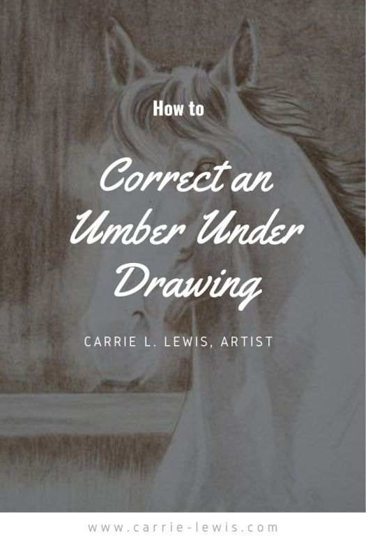 How to Correct an Umber Under Drawing