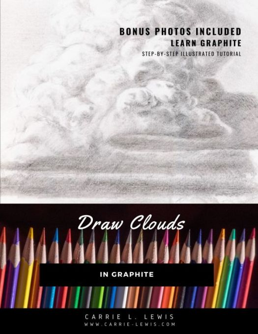 Draw Clouds in Graphite
