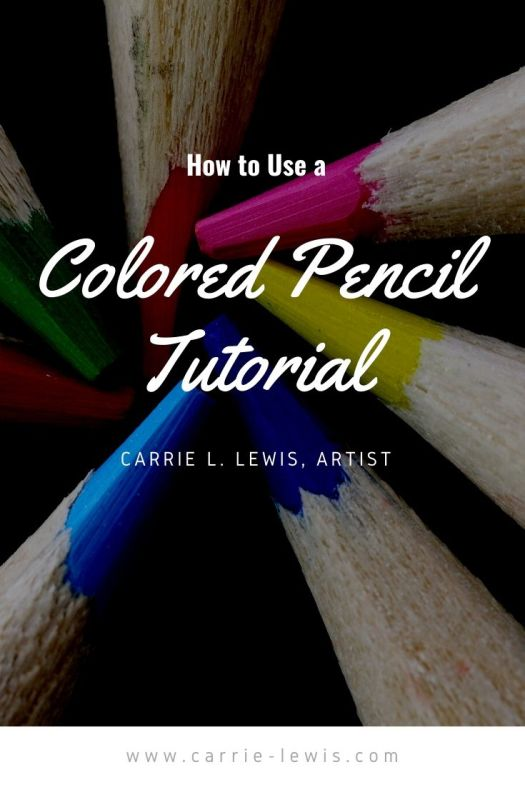 How to use a colored pencil tutorial