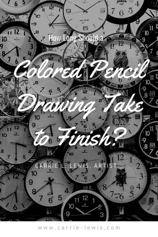 How Long Should a Colored Pencil Drawing Take