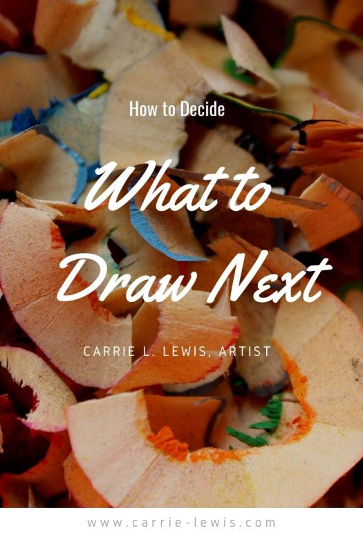 How to Decide What to Draw Next
