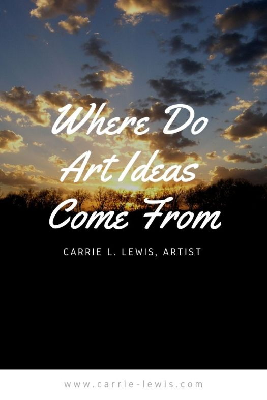 Where Do Art Ideas Come From