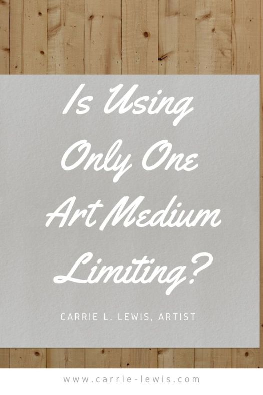 Is Using Only One Art Medium Limiting