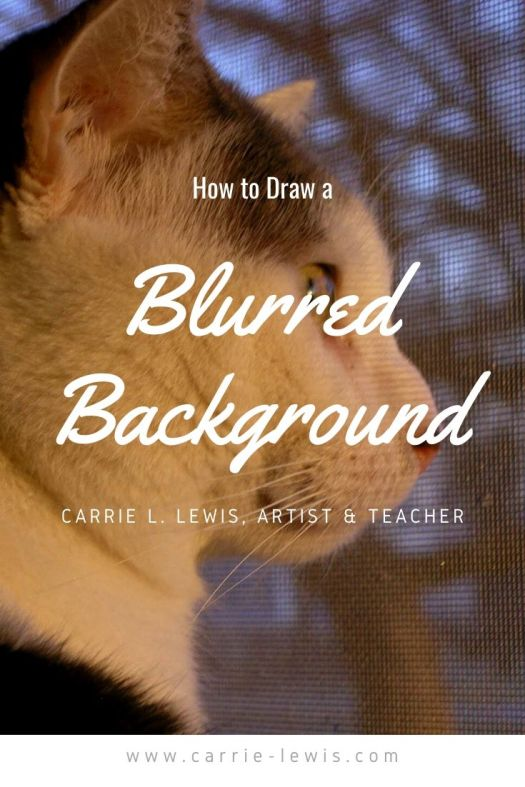 How to Draw a Blurred Background