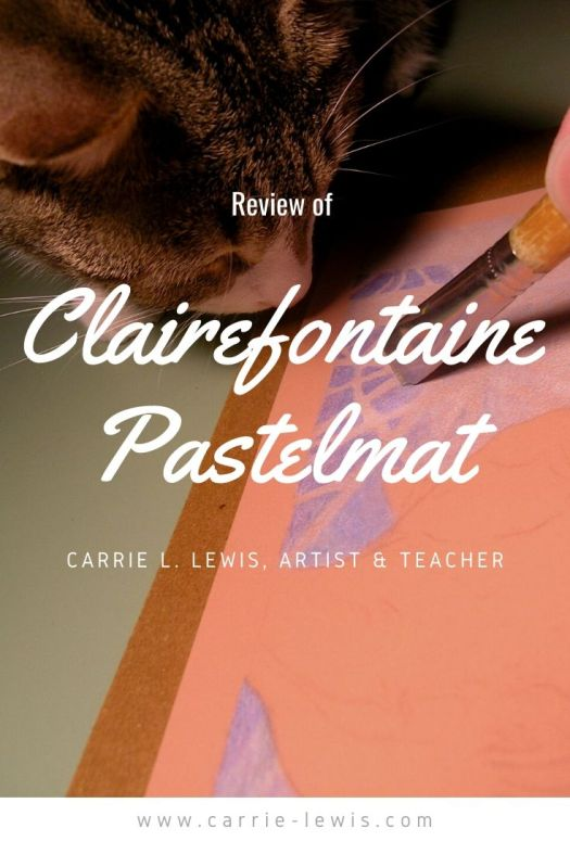 Review of Clairefontaine Pastelmat by Carrie Lewis
