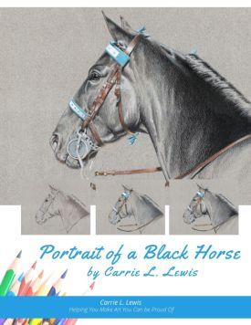 Portrait of a Black Horse Tutorial