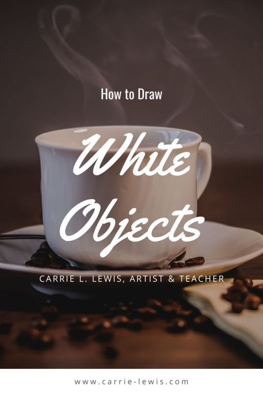 How to Draw White Objects