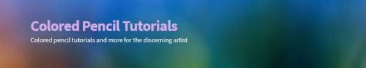 Colored Pencil Tutorials Store banner