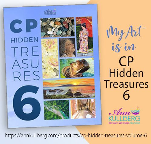 My Art is in CP Hidden Treasures, Volume 6