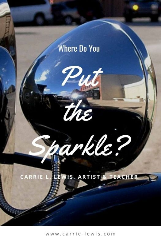How to Decide Where to Put the Sparkle