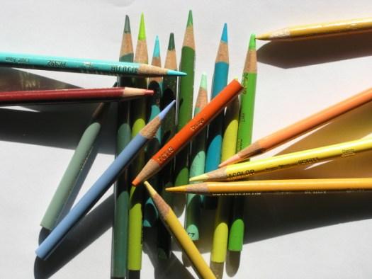 Old Prismacolor colored pencils