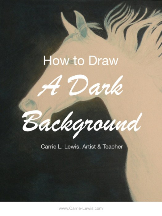 How to Draw a Dark Background