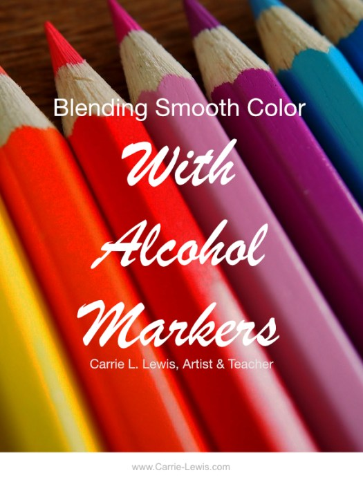 Blending Smooth Color with Alcohol Markers
