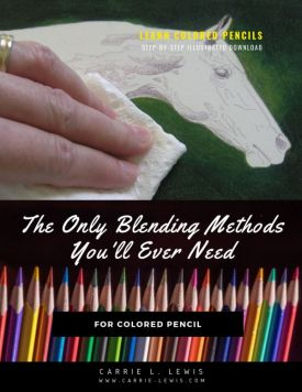 blending methods for colored pencil