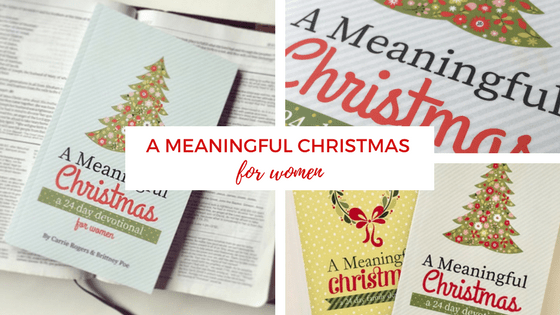 A Meaningful Christmas for women