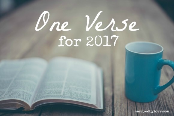 One Verse for 2017