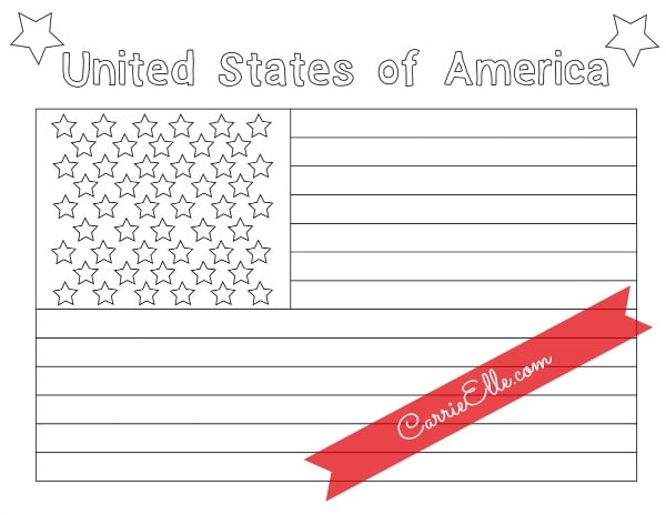 Free Printable American Flag